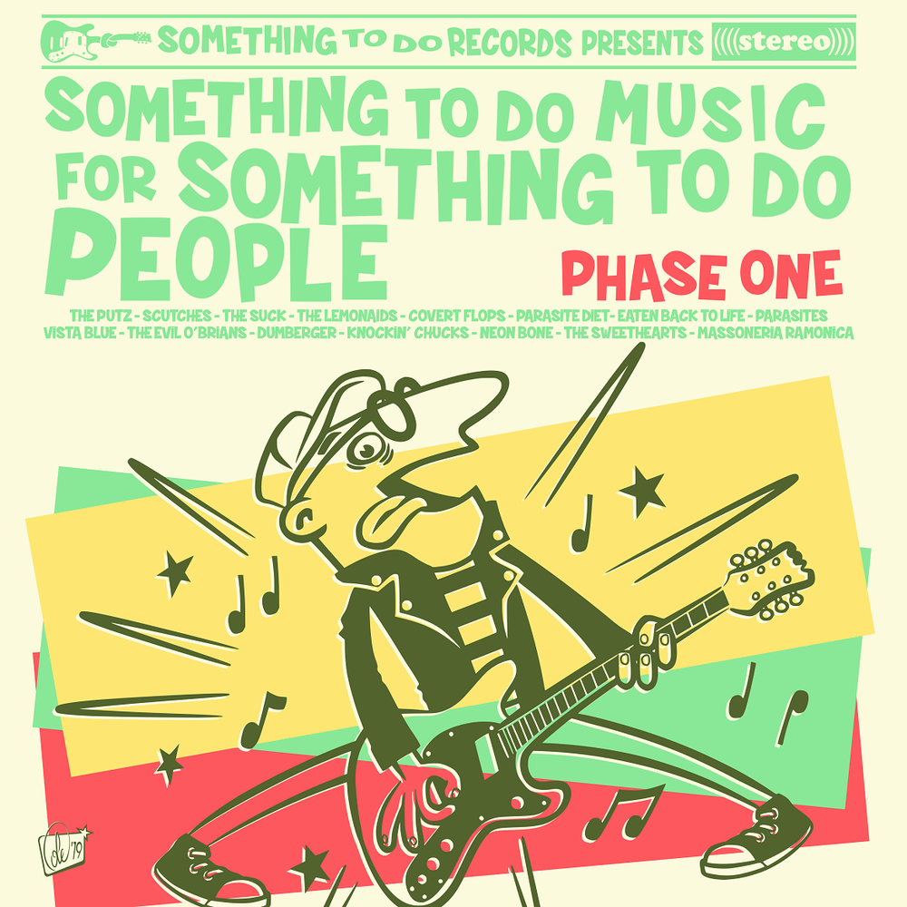 "Image of SOMETHING TO DO MUSIC FOR SOMETHNG TO DO PEOPLE, PHASE ONE (12"", CD, DOWNLOAD)"