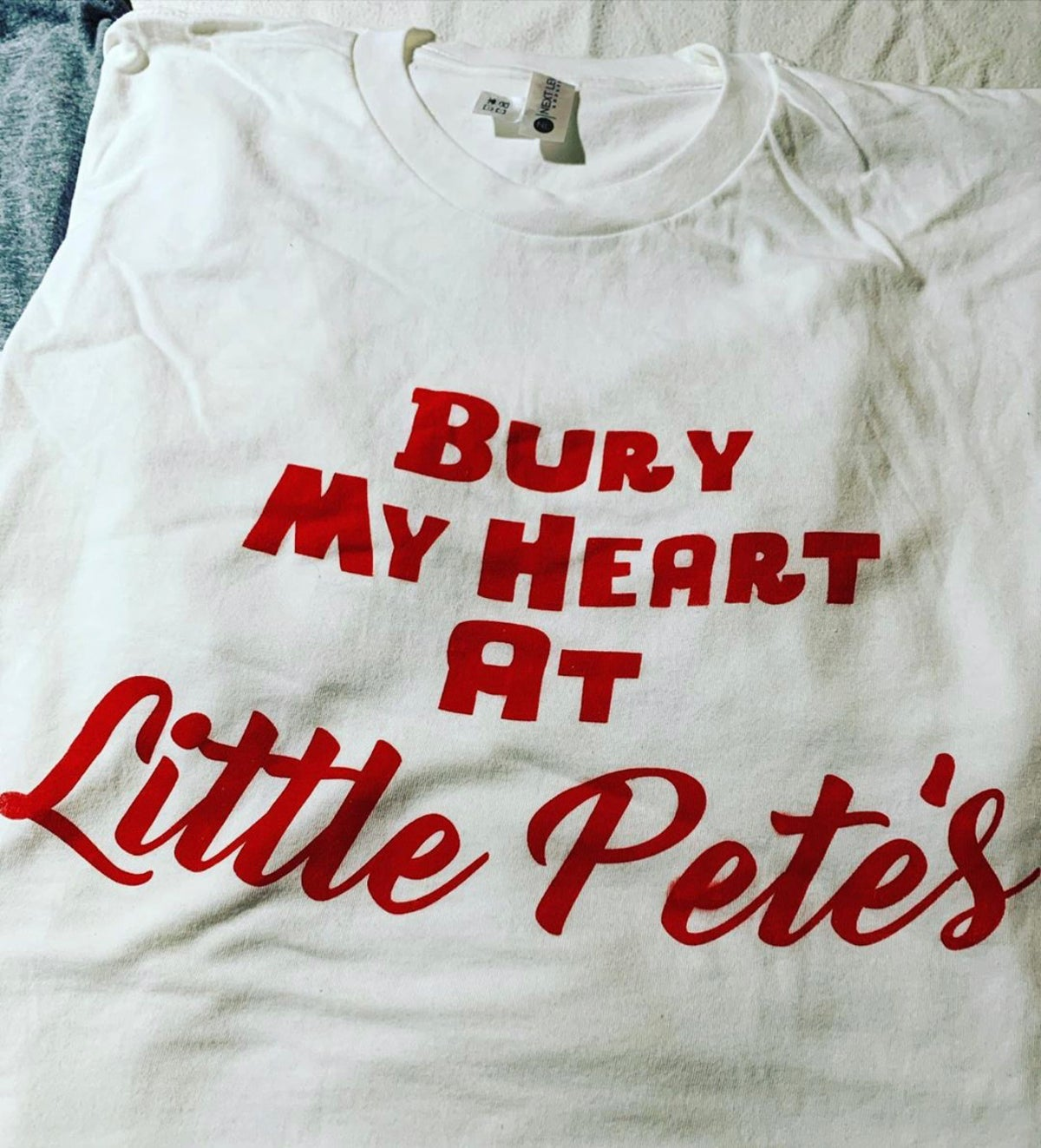 Image of Bury My Heart At Little Pete's Tee