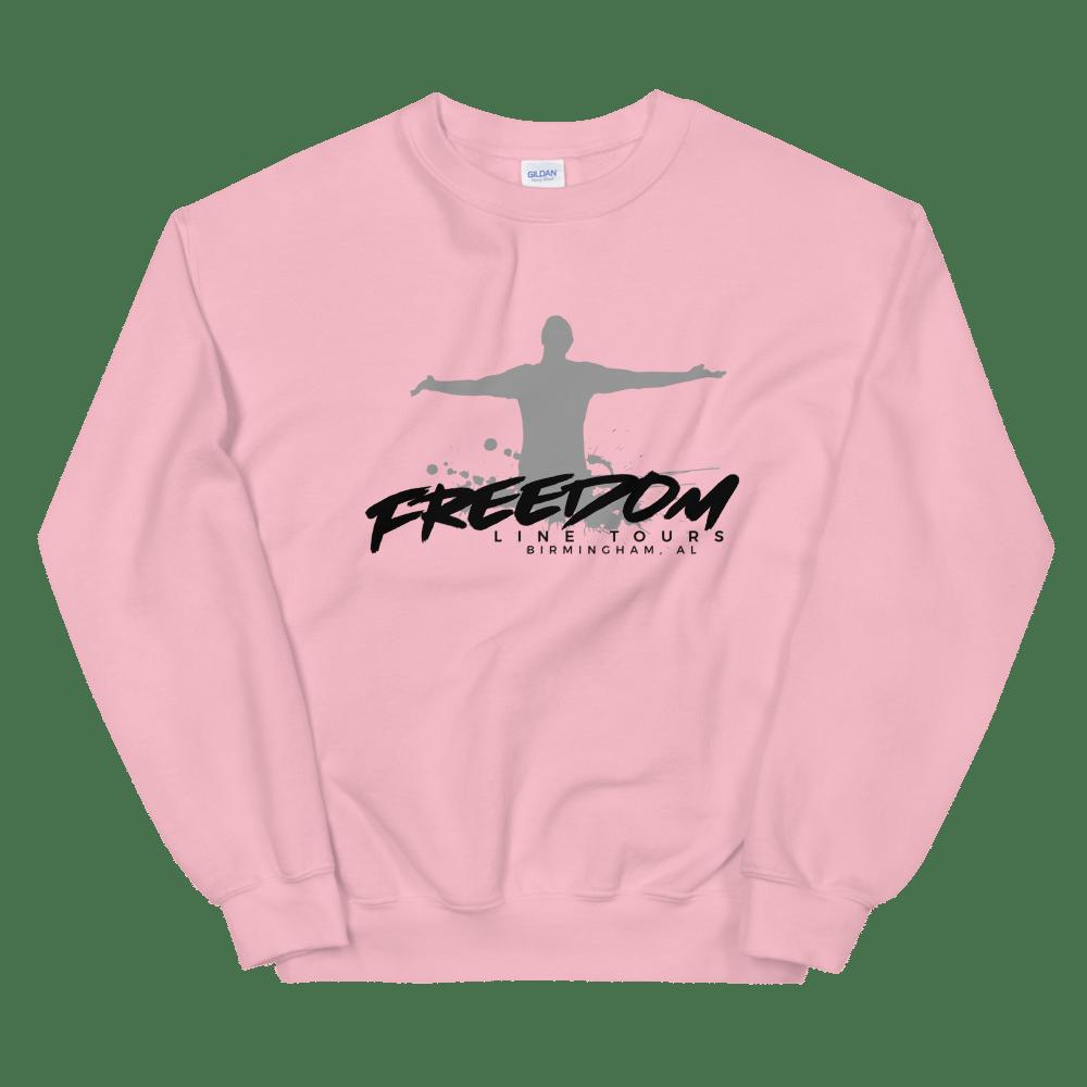 Image of PInk company sweatshirt
