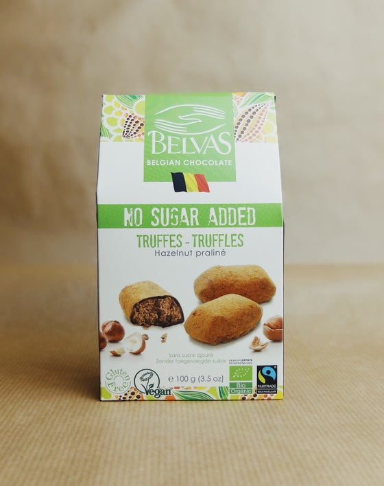 Image of Vegan Hazelnut Truffles with No Added Sugar