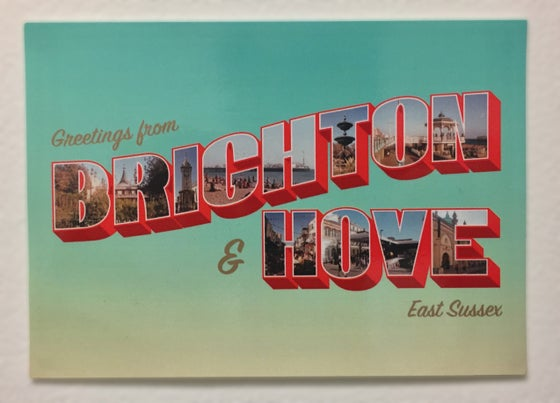 Image of Brighton & Hove A6 Postcard