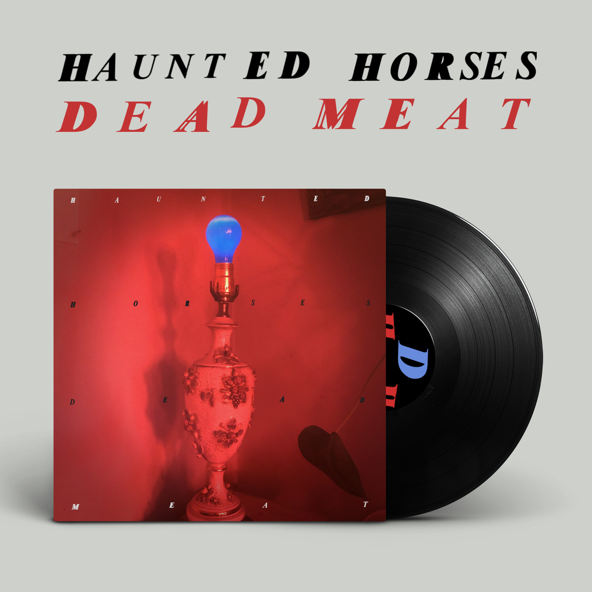 "Image of Haunted Horses - Dead Meat LP (12"" Vinyl)"