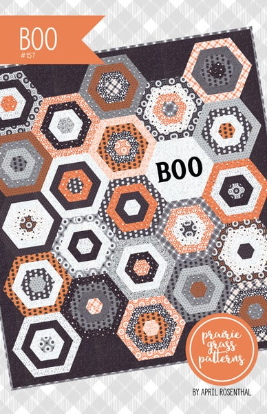 Image of BOO Paper Quilt Pattern