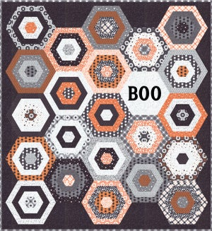 Image of Boo PDF Quilt Pattern