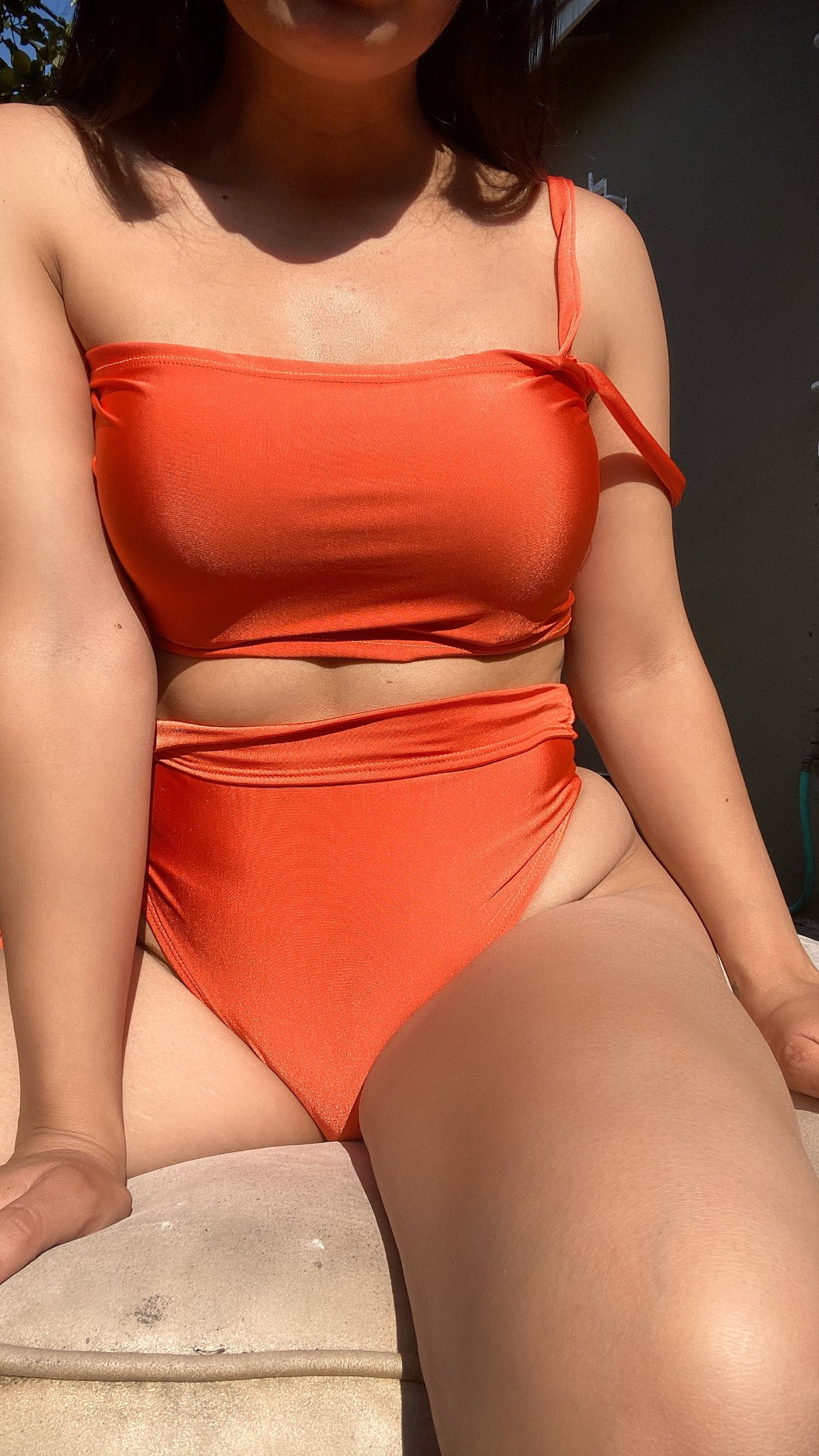 Image of THIN STRAP TOP W/BOTTOMS , 2 PIECE SET