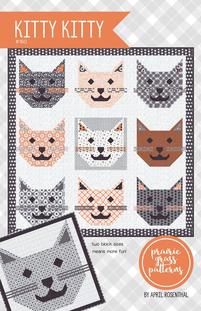 Image of Kitty Kitty PDF Quilt Pattern