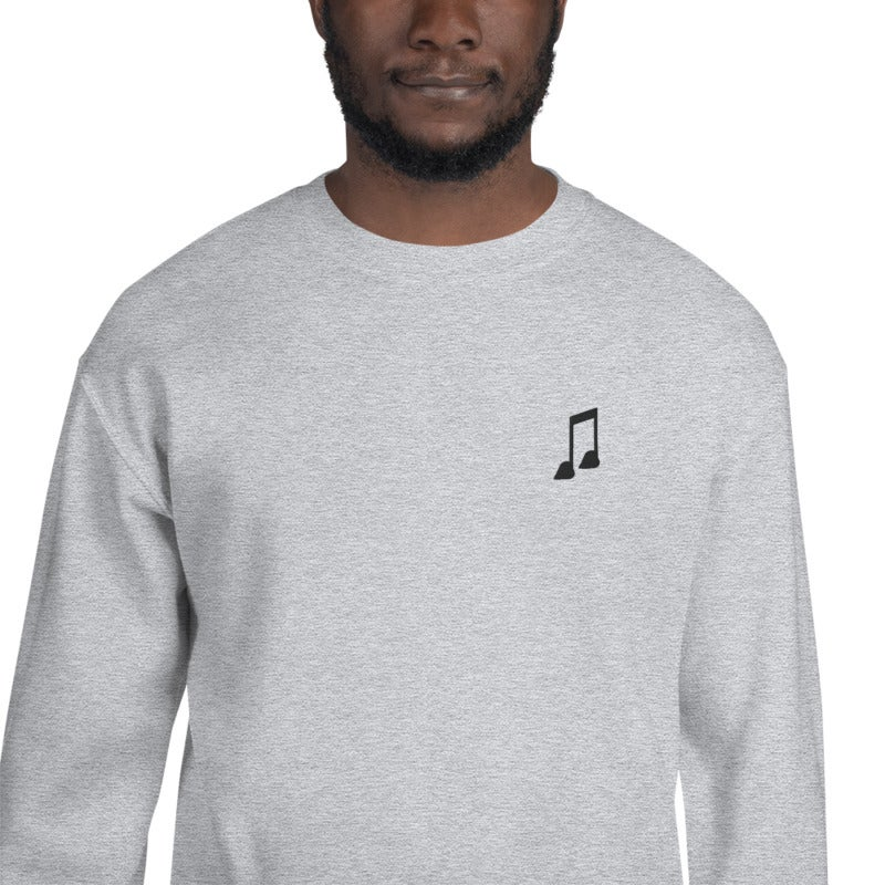 Image of Love Note *Embroidered* Crew Neck