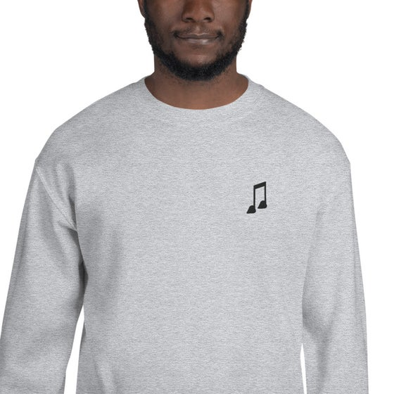 "Image of Love Note *Embroidered"" Crew Neck"
