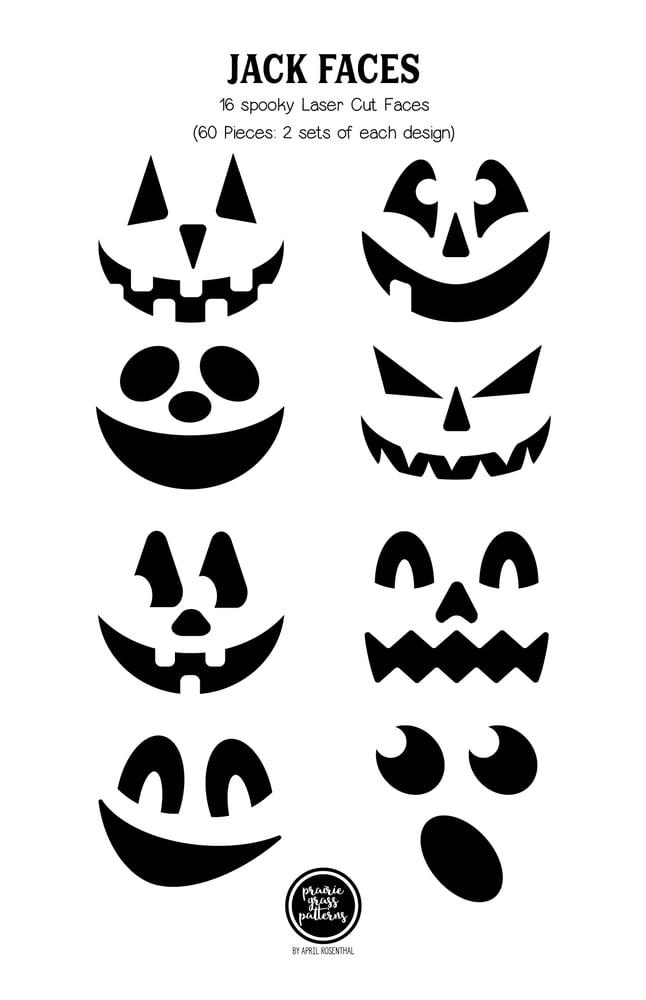 Image of Jack Laser Cut Faces