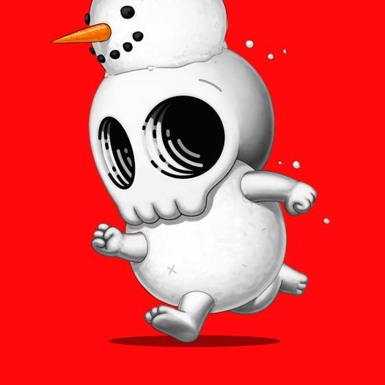 Image of Skully III (Snowman)