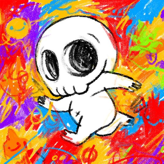 Image of Skully III (Crayon)