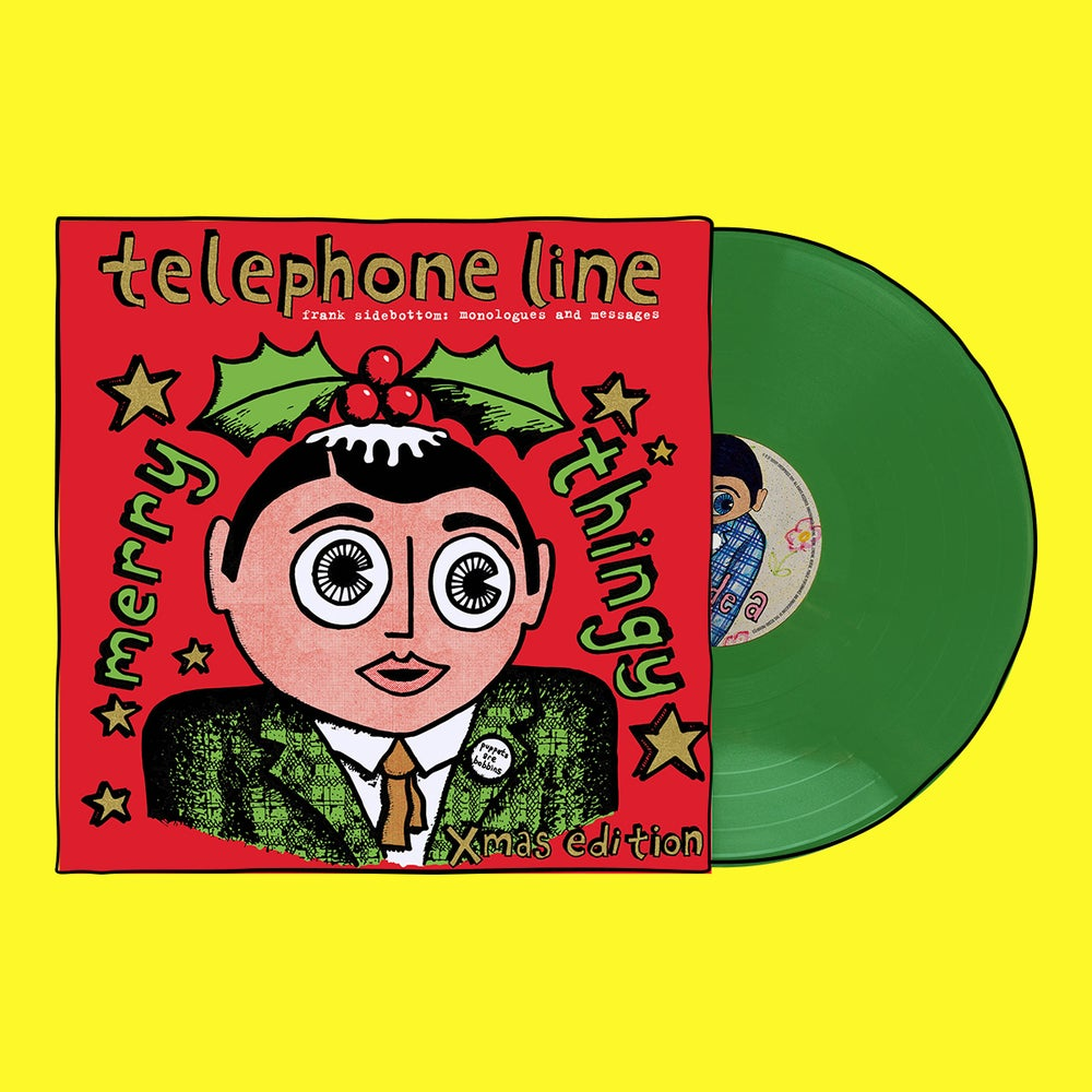 "Image of Limited Xmas Edition ""Telephone Line: Monologues and Messages"" Record Album"