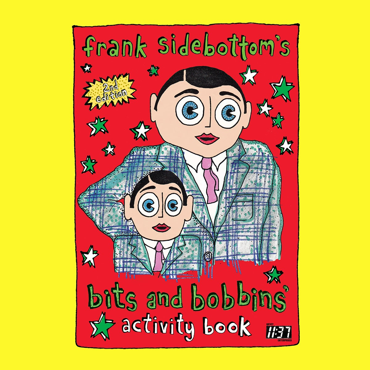 Image of Second Edition of Frank Sidebottom's Bits and Bobbins Activity Book