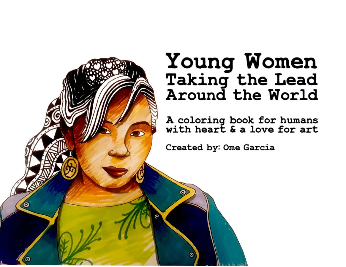 Image of Young Women Leaders Coloring Book