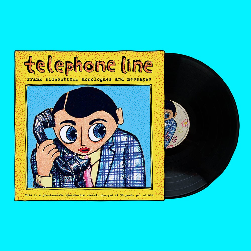 "Image of ""Telephone Line: Monologues and Messages"" Record Album"