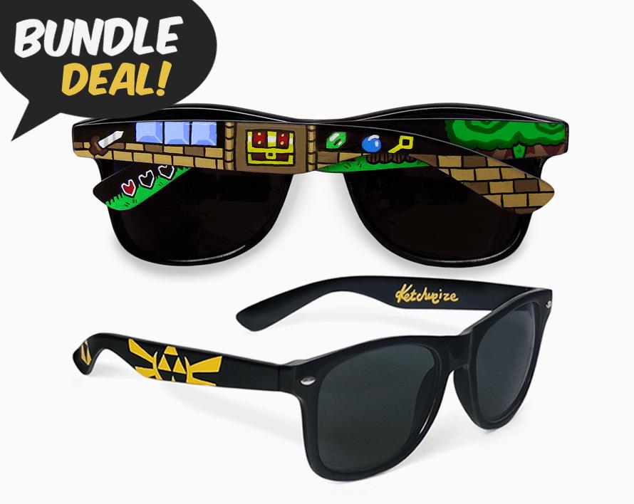 Image of Legend of Zelda sunglasses bundle by Ketchupize