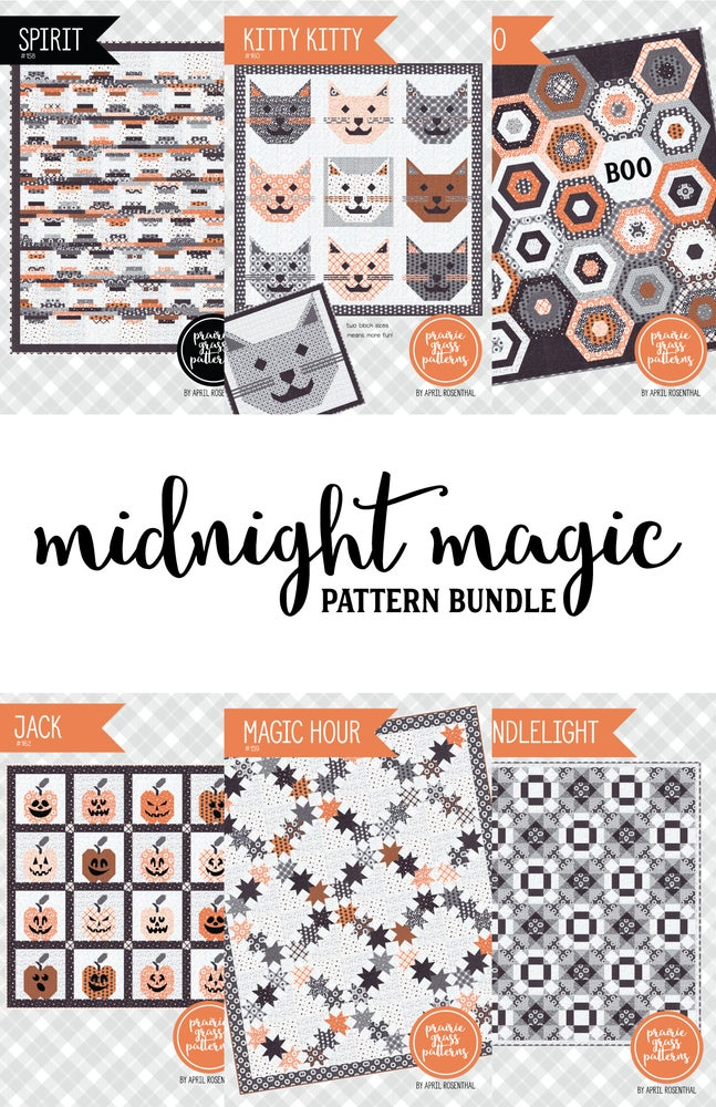 Image of Midnight Magic Pattern Bundle (6 patterns!)