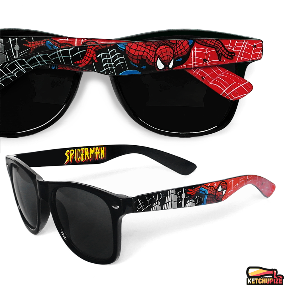 Image of Custom Spiderman sunglasses/glasses by Ketchupize
