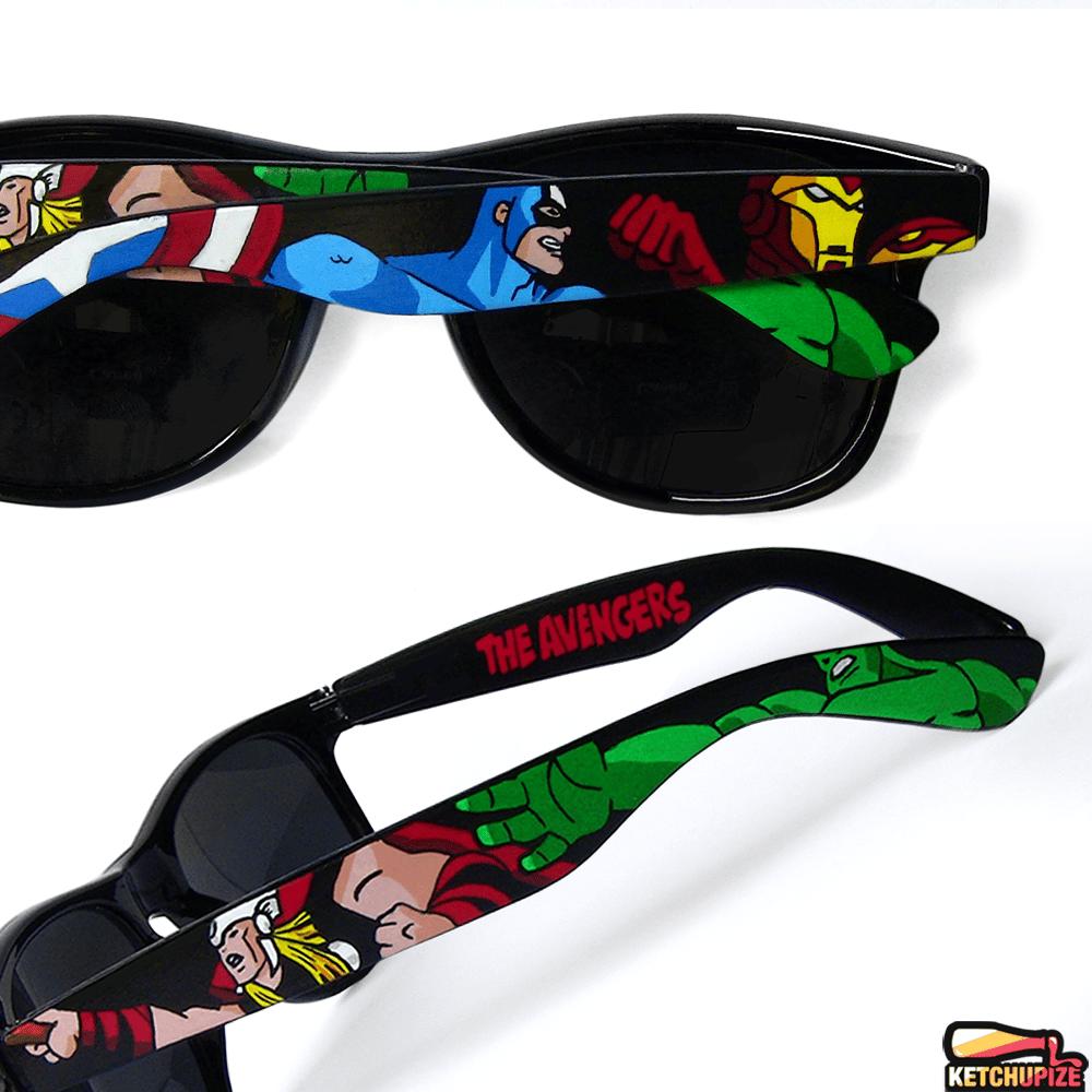 Image of Custom Avengers sunglasses/glasses by Ketchupize