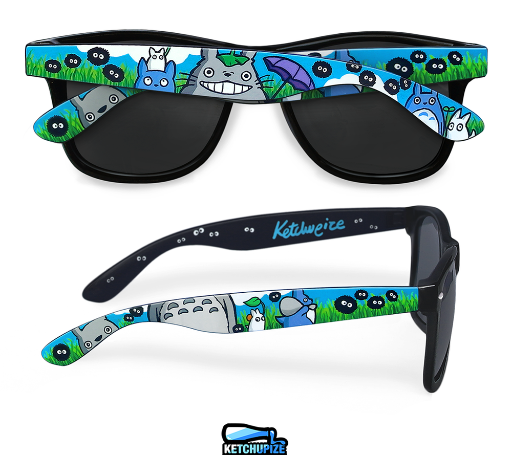 Image of Custom Totoro sunglasses /glasses by Ketchupize