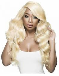 Image of Russian Blonde Body Wave - Transparent Full (360) Lace Wig