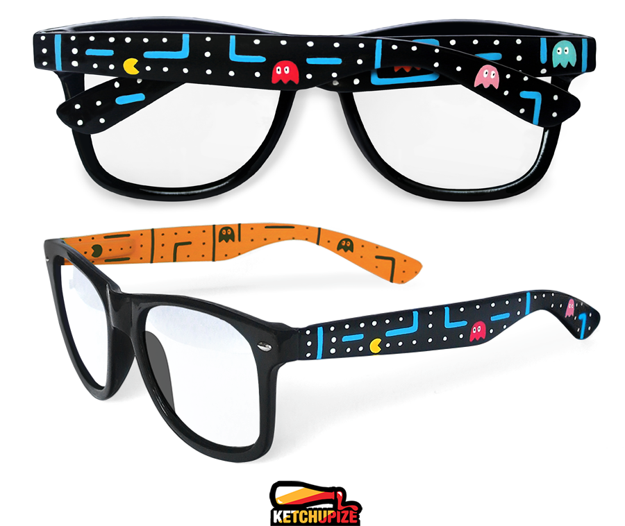Image of Custom arcade video game sunglasses/glasses by Ketchupize