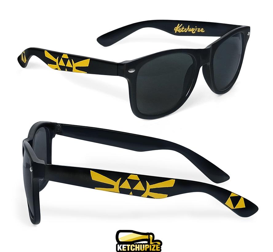 Image of Custom Zelda Wingcrest sunglasses/glasses by Ketchupize