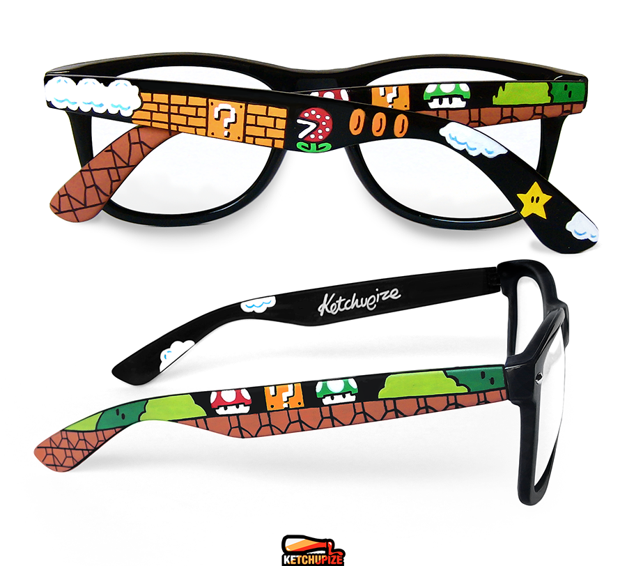 Image of Custom Mario sunglasses/glasses by Ketchupize