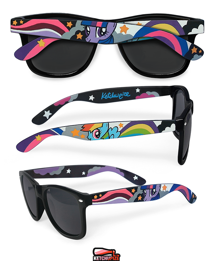 Image of Custom My little Pony sunglasses/glasses by Ketchupize