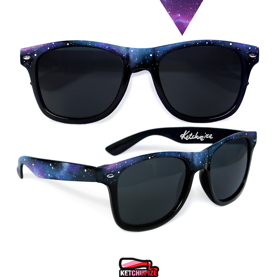 Image of Custom Galaxy sunglasses/glasses by Ketchupize