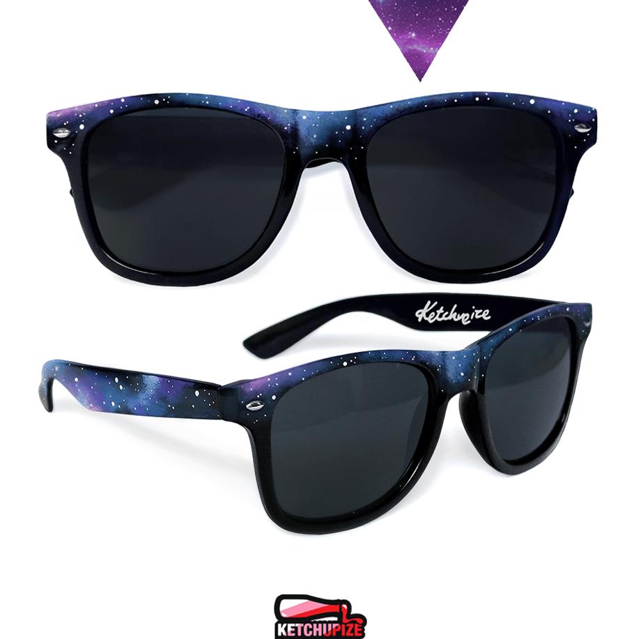 Image of Custom Galaxy sunglasses/glasses by Ketchupize