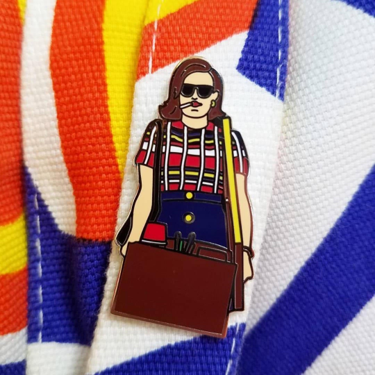 Image of Mad Men tribute - Peggy Olson Is the Boss pin