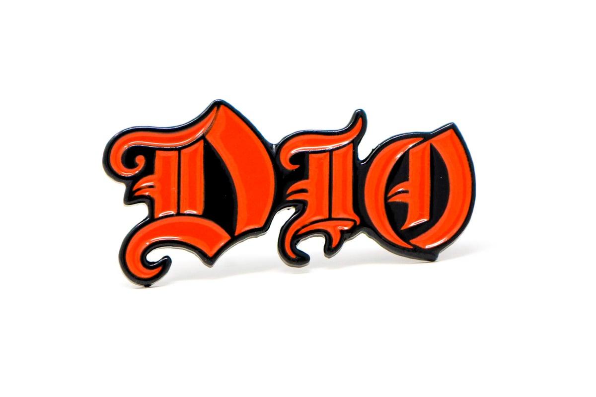 Image of Dio Logo Enamel Pin