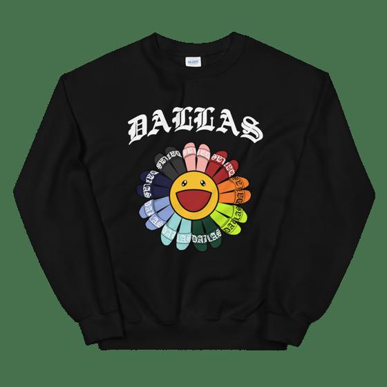 Image of DALLAS FLOWER CREWNECK (2 COLORS)