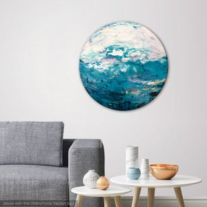 Image of Southern shores - 76x76cm