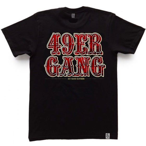Image of 49ER GANG TEE (black)