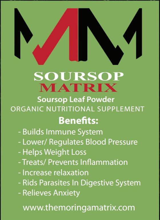 Image of Soursop leaf powder