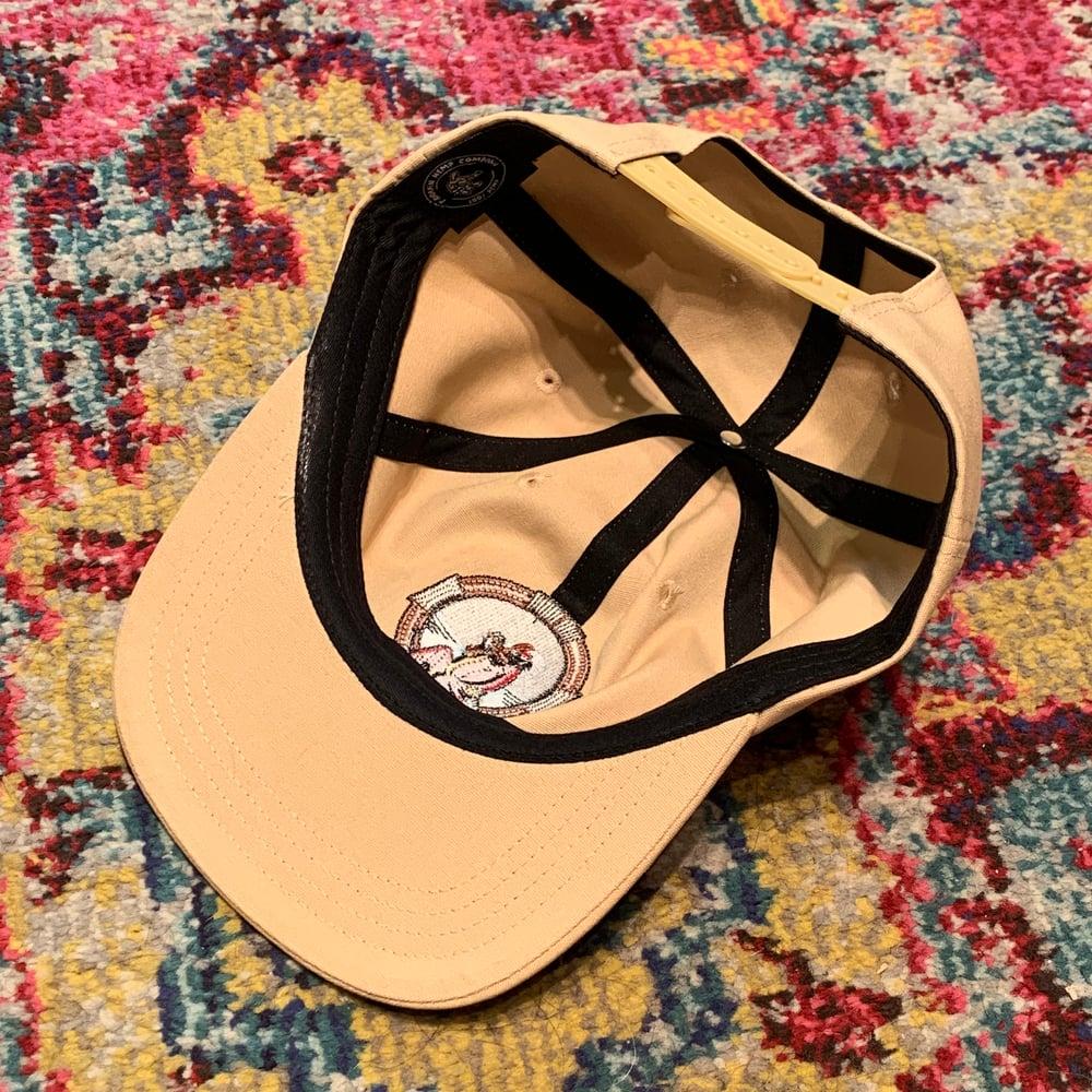 Image of Blues for Allah 100% Natural Hemp Snapback Hat!