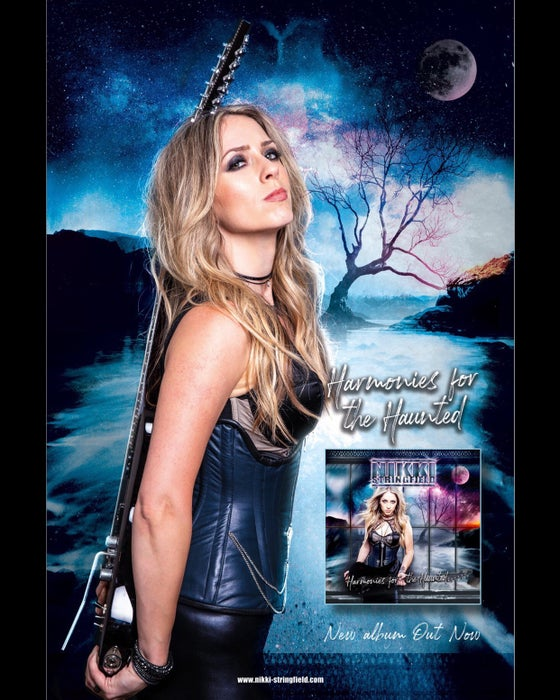 "Image of ""Harmonies For The Haunted"" signed 11X17 poster"