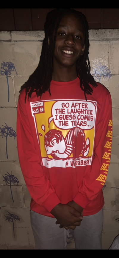 Image of After the laughter comes the tears .. #Wutang Long sleeve T