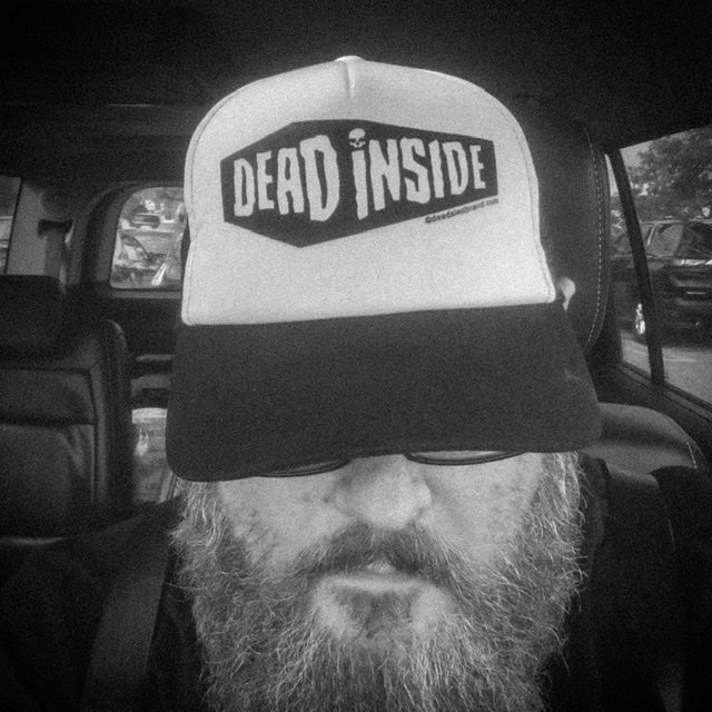 Image of Dead Sled Dead Inside Trucker Hat