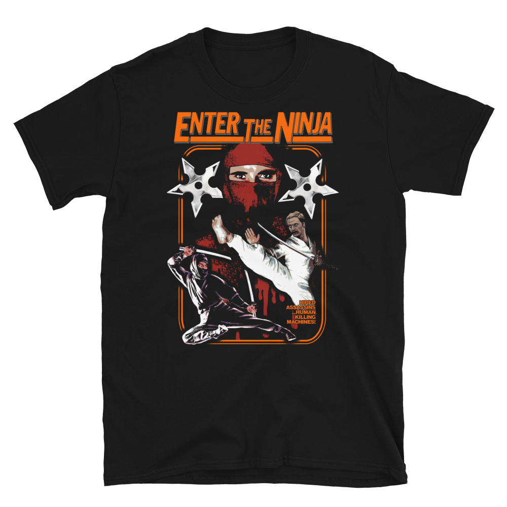 Image of Enter The Ninja - Limited Edition T-Shirt