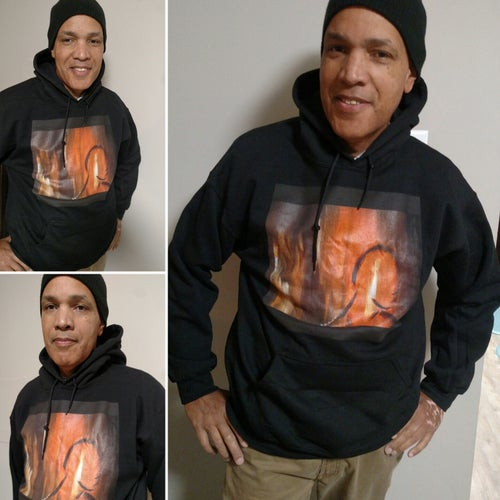 """Image of """"His Thoughts..."""" Hoodie"""