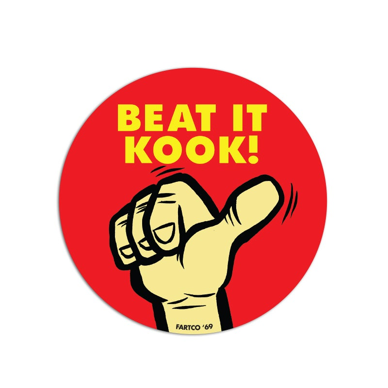 Image of Beat It Sticker