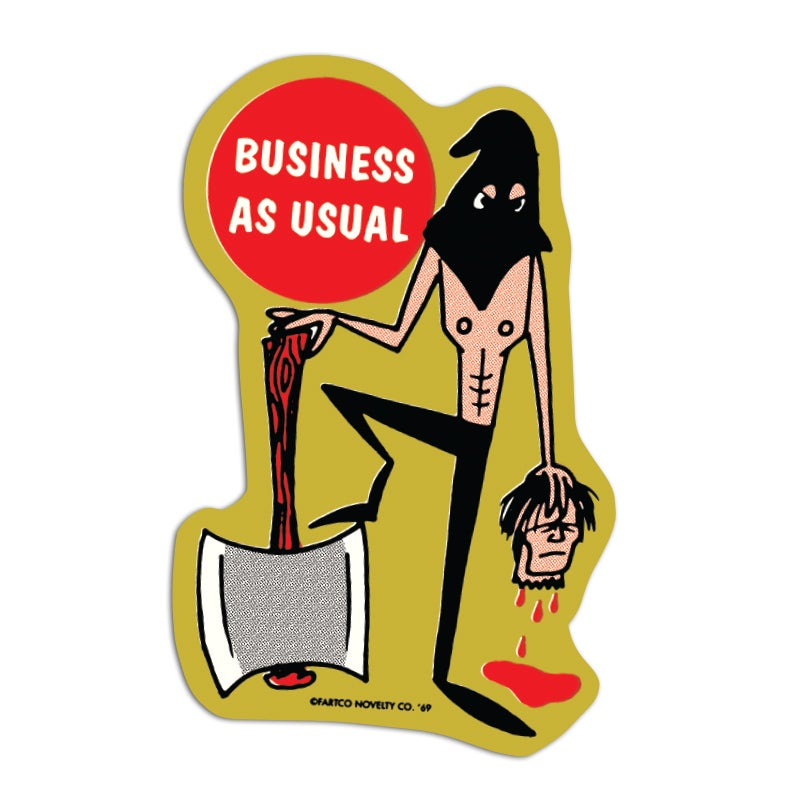 Image of Business Sticker