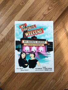 Image of My Favorite Weekend poster