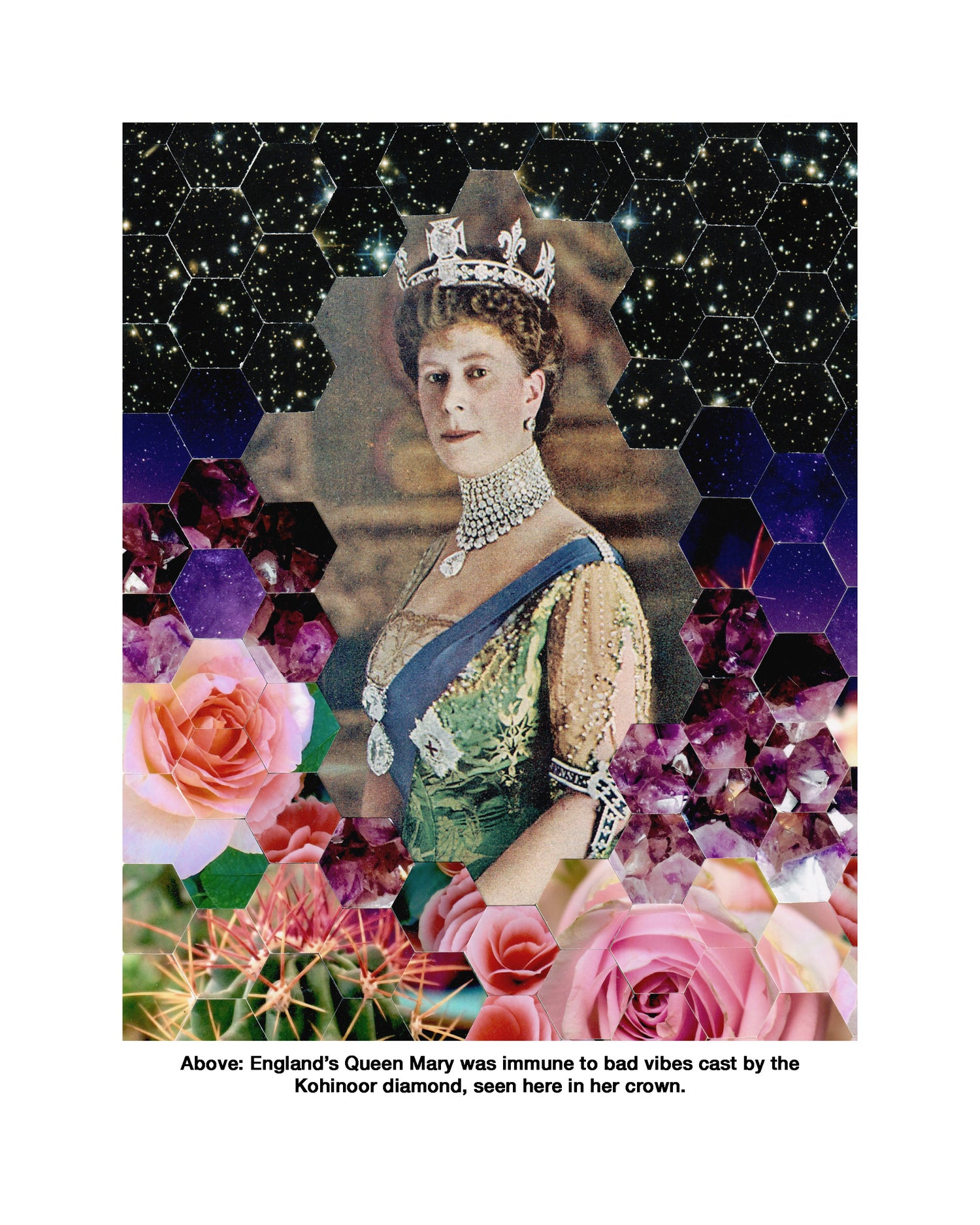 """Image of """"Curse of the Kohinoor Diamond"""" limited edition print"""