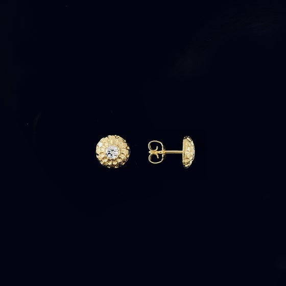 Image of Billie / 24k gold-coated silver