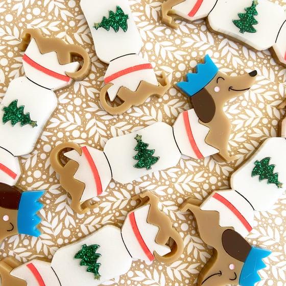Image of Christmas cracker dog - Limited