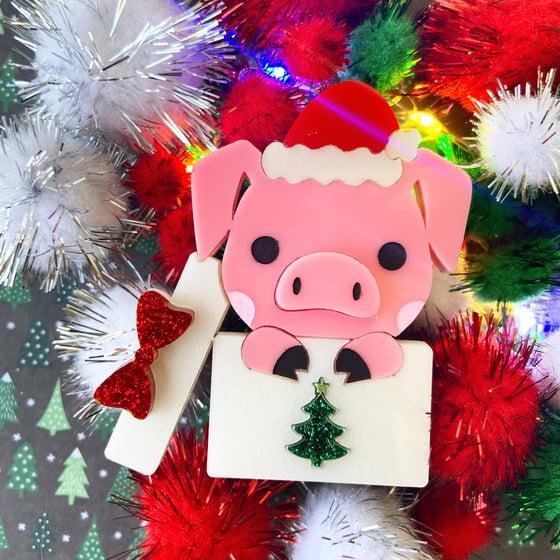 Image of Festive piggy - Limited
